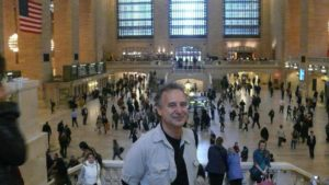 Martin at Grand Central Station